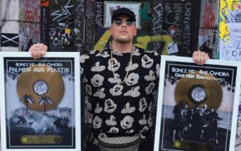 Bonez MC mit zwei Goldenen Schallplatten