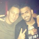 Farid Bang und Al-Gear gemeinsam am Feiern