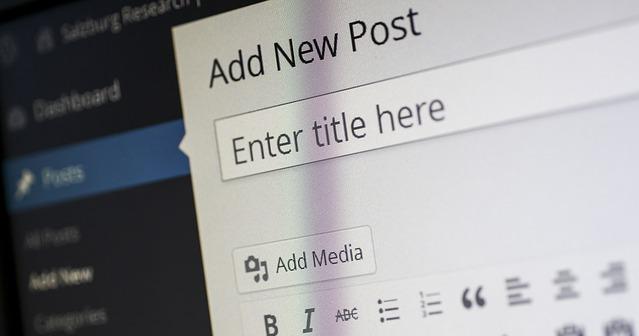 Wie man einen neuen Beitrag auf Wordpress hinzufügt