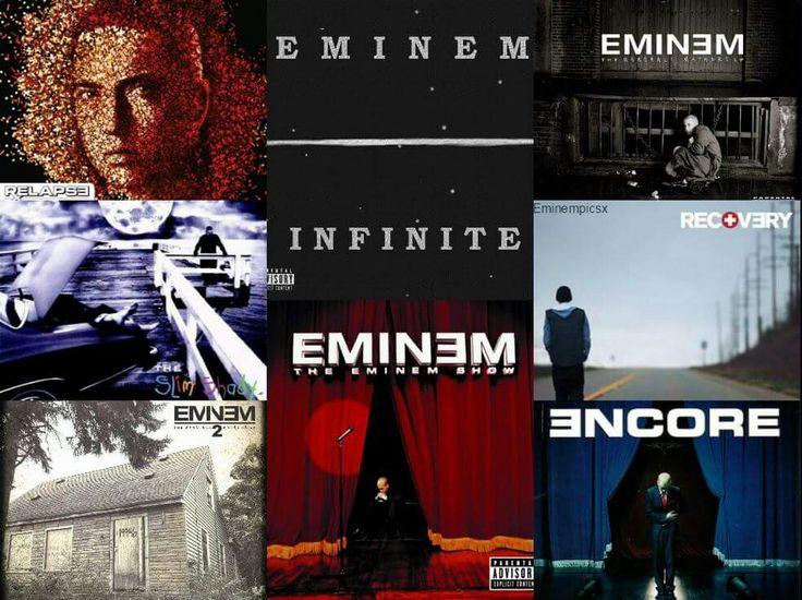 Eminems Alben, auf denen Hailie Scott Erwähnung findet