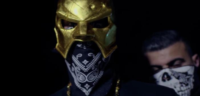 18 Karat Gold Maske und Bandana
