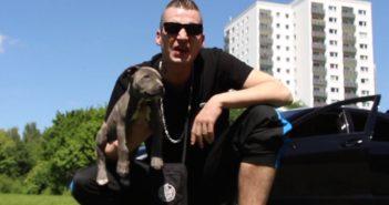 LX Rapper mit Hund