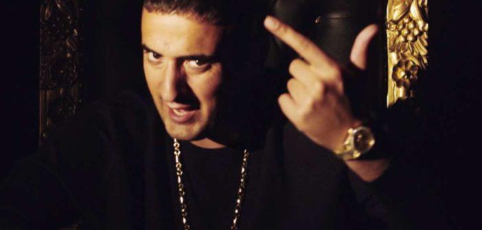 Haftbefehl im Musikvideo