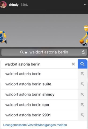 Shindy im Waldorf Astoria in Berlin