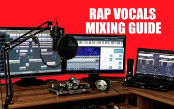 Rap Vocals Mixing Guide Startbild mit Digitaler Audio Workingstation