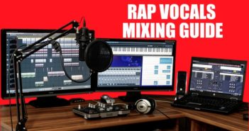 Rap Vocals Mixing Guide Startbild mit Digitaler Audio Workingstation