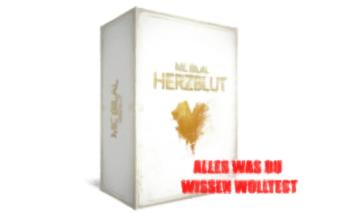MC BIlal Herzblut Album Limited Fan Box