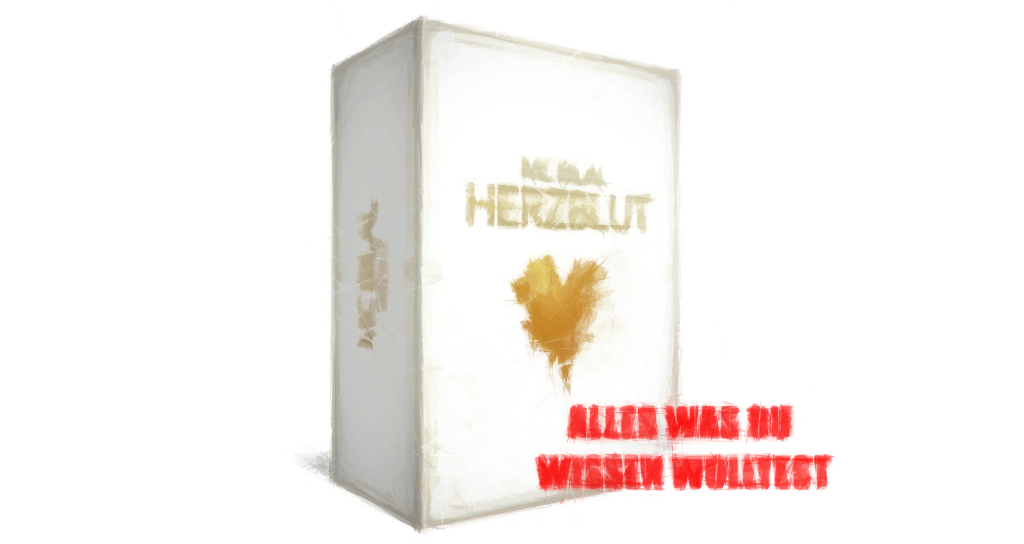 MC BIlal Herzblut Album Limited Fan Box
