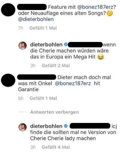 Dieter Bohlen bietet Bonez MC und Raf Camora Cherie Cherie Lady zu covern