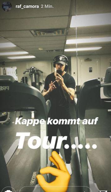Raf Camora Pumpt Auf Für Die Palmen Aus Plastik 2 Tour