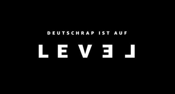 Deutschrap ist auf Level